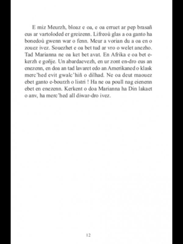 Goulc'han Kervella - Enez an Amerikaned